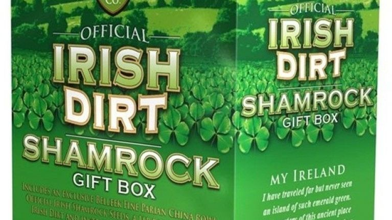 A load of muck - Irish dirt selling big in the US