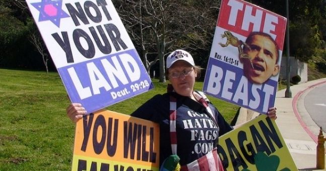 Audio: Did you hear what the Westboro Baptist Church called Irish people last night? Shocking stuff...