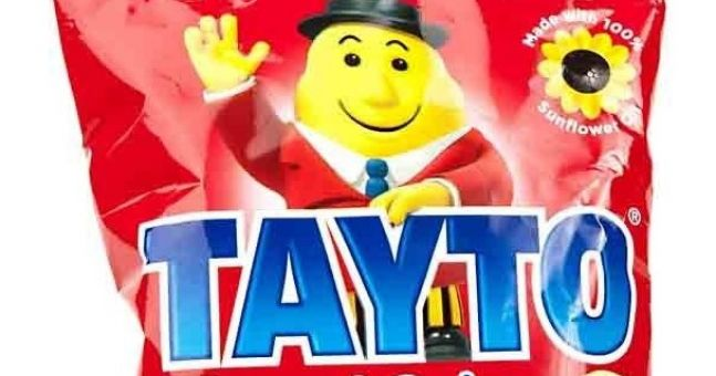 Come in Mr Tayto, your work is done