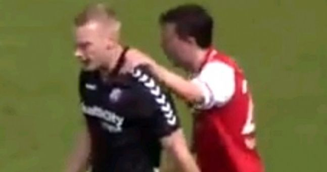 Video: The comedy own goal of the season was scored in Holland this weekend