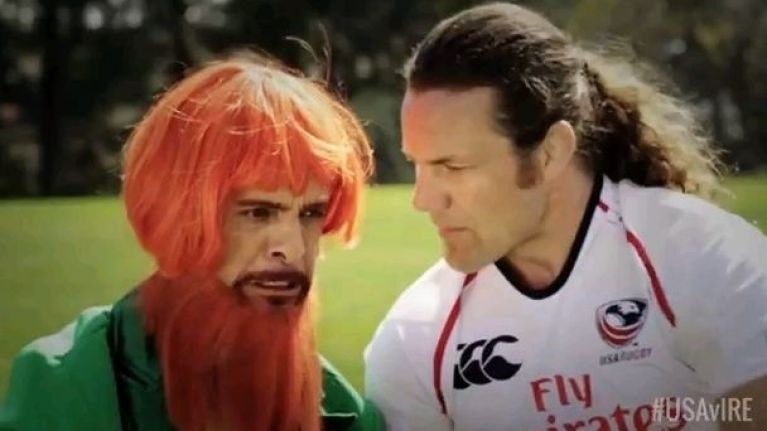 Video: Have you seen the ad USA Rugby are using to promote the Ireland game this summer?