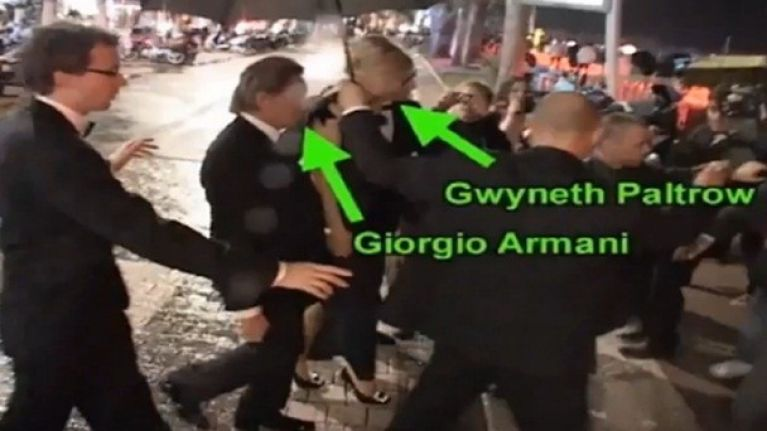 Cannes you believe it!? Man sneaks in to VIP party posing as Gwyneth Paltrow's bodyguard