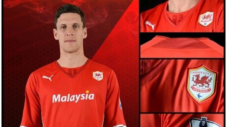 Pics The New Cardiff City Kit Is Two Types Of Red And Awful Joe