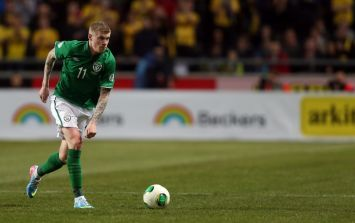 James McClean has confirmed his move to Wigan