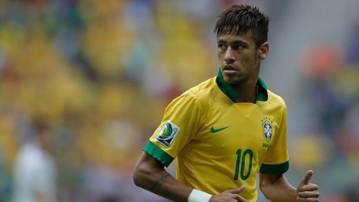 Video: Neymar just scored a cracking volley for Brazil against Mexico