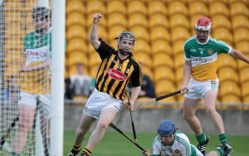 Pic: Great shot of the goal that got the Kilkenny U21s back on track tonight
