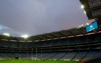 Pics: Some serious flooding is building up around Croke Park