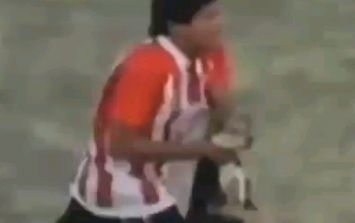 Video: Footballer in Argentina hurls helpless dog into fence, then deservedly gets his comeuppance