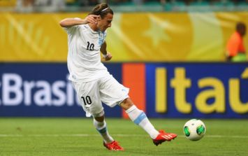 Video: Diego Forlan and John Obi Mikel scored a pair of screamers in the Confederations Cup last night