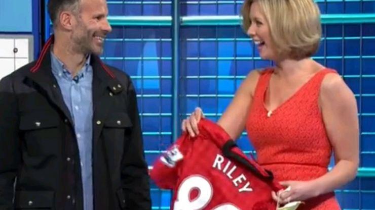 Video: In case you missed it, here's Ryan Giggs surprising Rachel Riley on Countdown yesterday