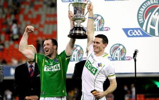 Pic: Here is the Ireland jersey for the International Rules series