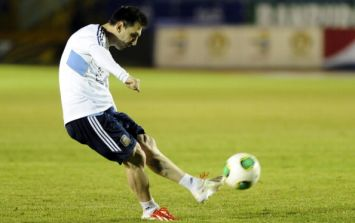 Pic: So what do we make of Lionel Messi's shiny new signature Adidas F50 boots?