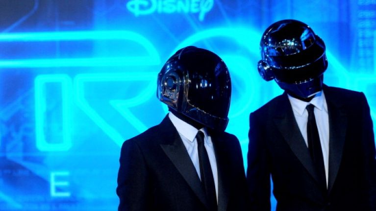 Picture: Is this really what Daft Punk look like without