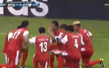 The Tahiti Football Federation is pretty happy with their historic goal against Nigeria
