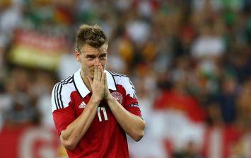 Nicklas Bendtner put up for sale…on eBay