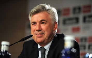 Pic: Carlo Ancelotti looked absolutely bored out of his mind at a press conference today