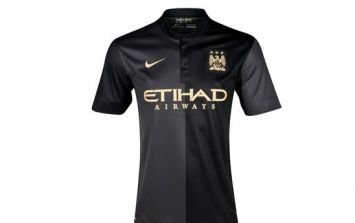 Pic: Manchester City officially unveil slick new black away kit