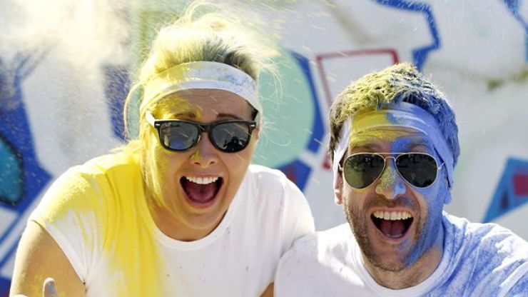 JOE talks to SPIN1038's Ryan Phillips about the Irish Cancer Society's Colour Dash