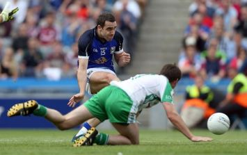 Video: The incredible open goal miss by Cavan's Eugene Keating