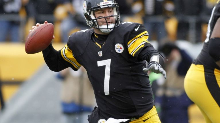 Pic: Pittsburgh Steelers QB Ben Roethlisberger is knocking around Dublin tonight