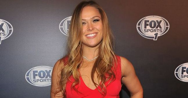 Ronda Rousey Tattoo: Pic: This Ronda Rousey Tattoo Is Not Good, Not Good At All