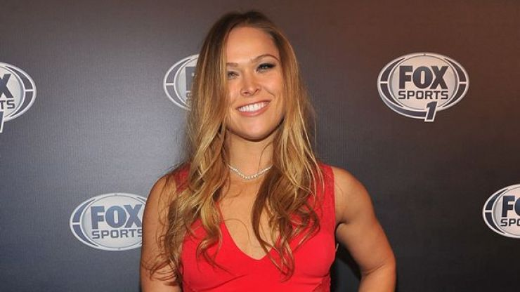 Pic: This Ronda Rousey tattoo is not good, not good at all