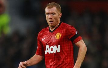 Chance to play with Paul Scholes for sale on eBay but it's pretty expensive