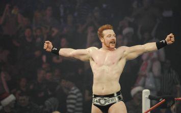 WWE star Sheamus a happy man in Croke Park today