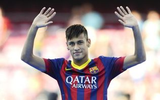 Vine: Neymar just being ridiculously skillful during Barcelona's win against Levante