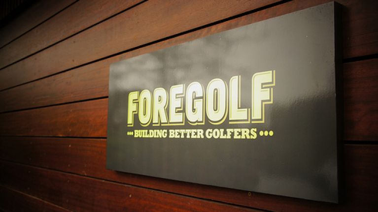 JOE get's fit...ted by the lads at ForeGolf