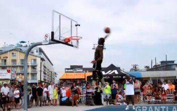 Video: The Venice Beach Basketball League Slam Dunk Contest is pretty special