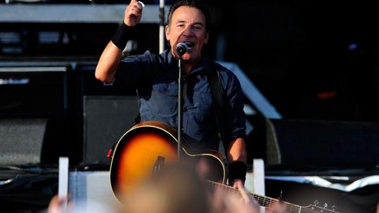 Video: Glen Hansard and Bruce Springsteen on stage in Nowlan Park