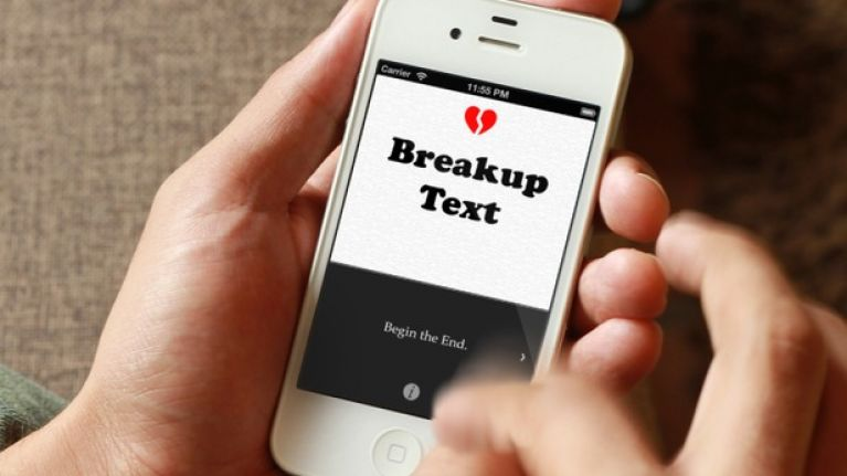 Looking to send that fateful break up text to someone