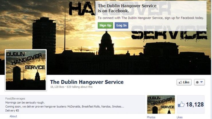 The Irish Hangover Delivery Service you've been waiting for