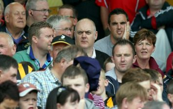 Pic: Dara O'Briain's view at Semple Stadium yesterday wasn't great