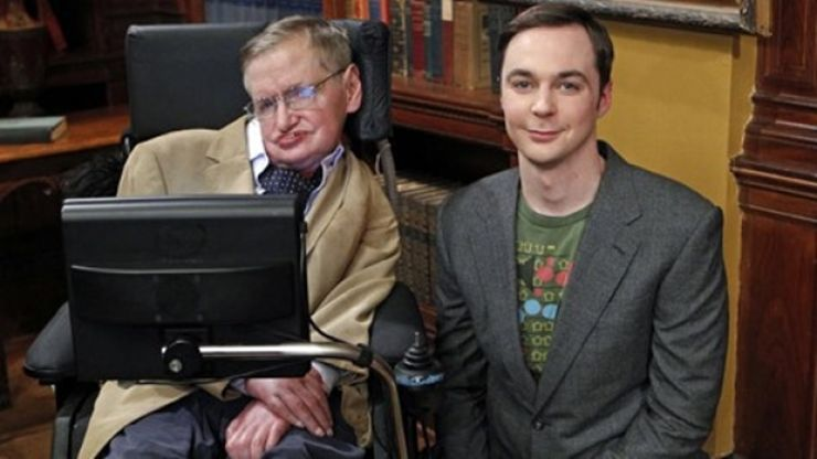 Sheldon would be so proud - Stephen Hawking performs the 'Big Bang Theory' song