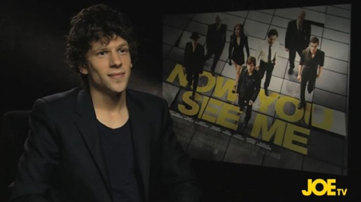 Big Interview: JOE catches up with Jesse Eisenberg, the star of Now You See Me