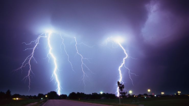 Video: So the lightning was pretty spectacular in Dublin and Kilkenny last night
