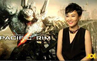 Video: JOE meets Rinko Kikuchi, star of Pacific Rim