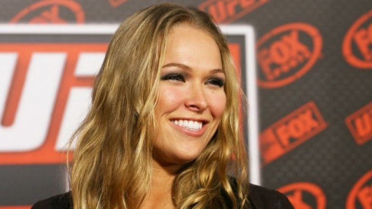 Gallery Ronda Rousey Goes Topless In Her Latest Maxim Photo Shoot