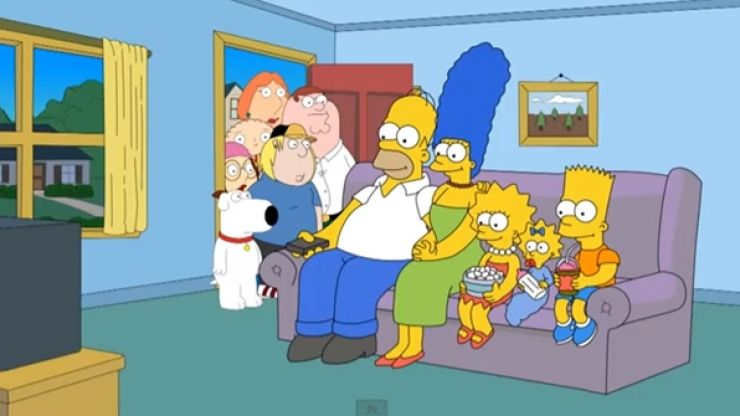Video: When The Simpsons meet Family Guy