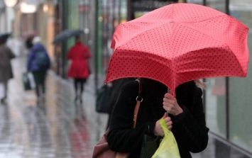 Pic: Amazing image capturing just how bad the rain was in Dublin yesterday