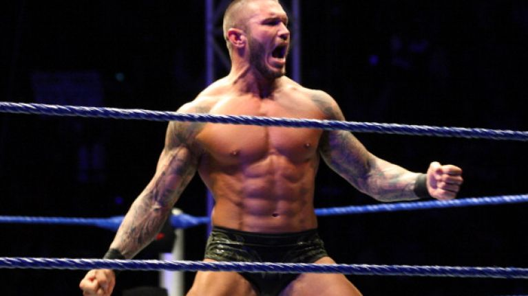 Video: WWE star Randy Orton gets punched in the nads by a random fan