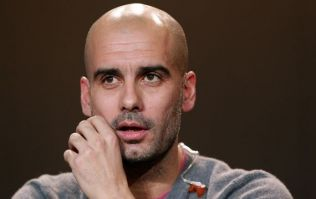 Video: Pep Guardiola runs a tight, serious and intense training session