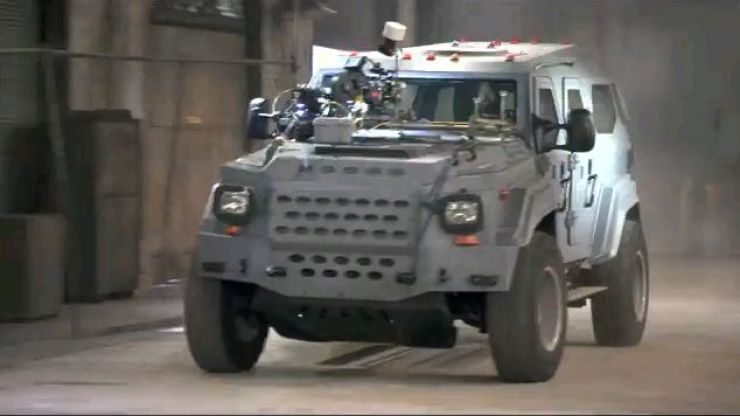NBA player buys armoured car driven by The Rock in Fast Five