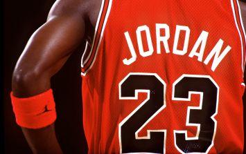 Video: Michael Jordan still slam dunking at age 50