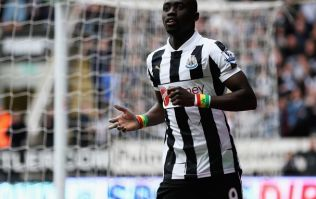 Pic: Top man - Papiss Cisse puts on a BBQ at his house for Newcastle fans