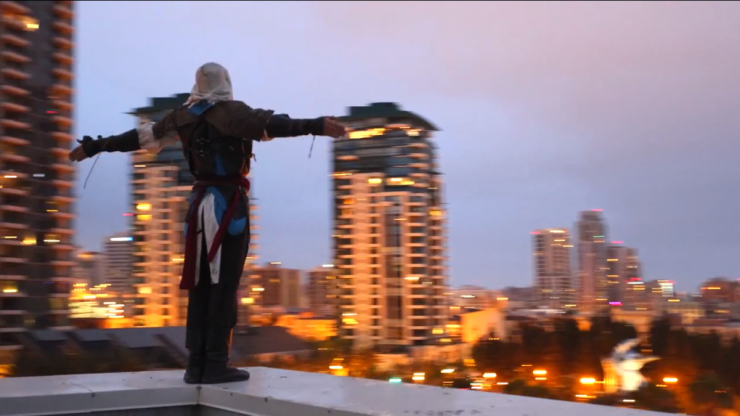 Video: Parkour pro shows off his epic Assassin's Creed skills
