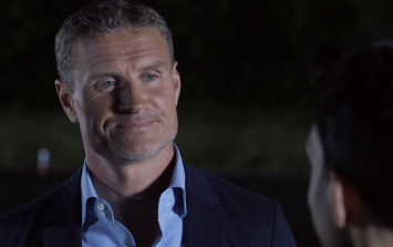 Video: Watch a blindfolded magician drive David Coulthard around a track