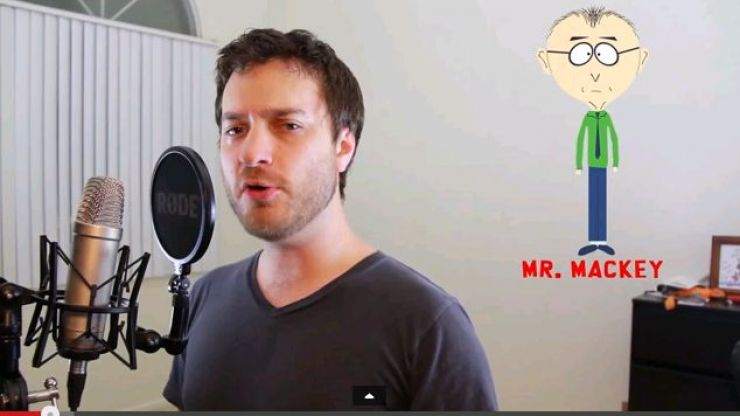 Video: 31 South Park characters expertly impersonated in just two minutes